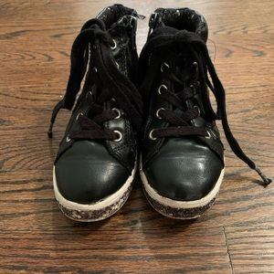 Steve Madden Black High Tops